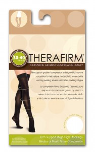 Thigh High Compression Socks 30-40 mmHg