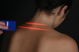 Erchonia Laser being used on patient